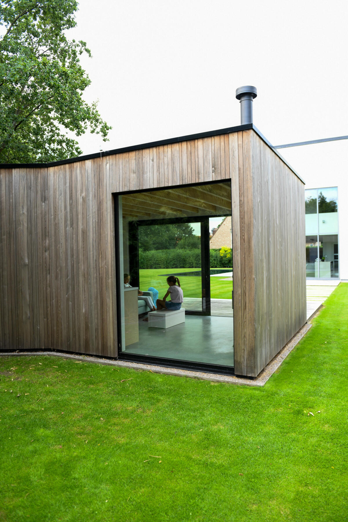 sauna en homeoffice